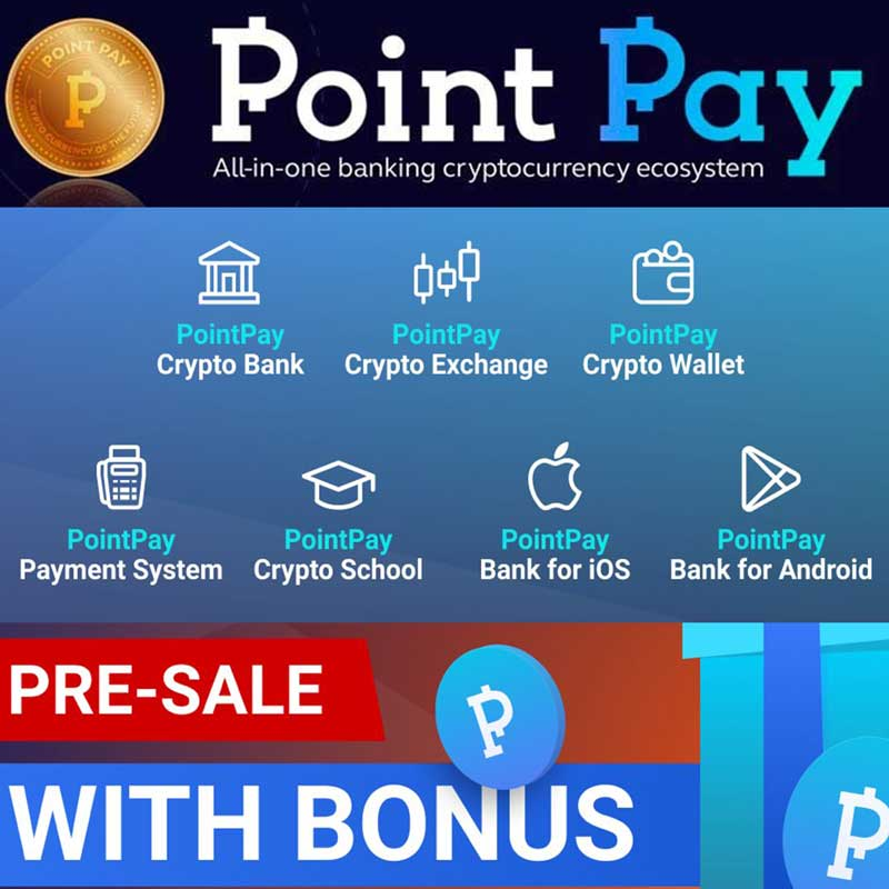 The last PointPay tokens are on pre-sale! Join now!